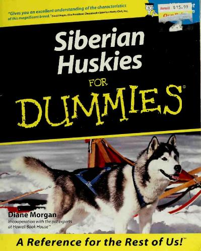 40 Dummies 41 Morgan Diane   Siberian Huskies for Dummies 40 r 41