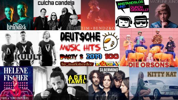 Сборник клипов - Deutsche Music Hits. Часть 8. [100 Music videos] (2019) WEBRip 1080p скачать торрентом