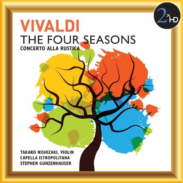 Takako Nishizaki, Capella Istropolitana & Stephen Gunzenhauser   Vivaldi  The Four...