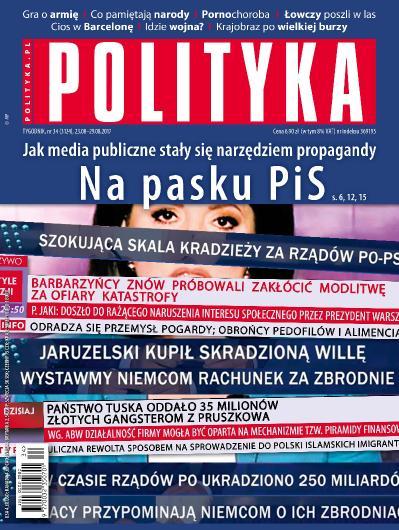 Polityka Nr 34  23 29 sierpnia (2017)