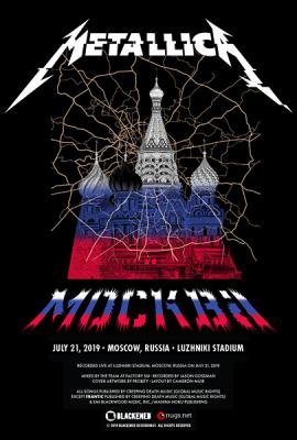 Metallica - Live in Moscow [21.07.19] (2019) WEBRip 1080p