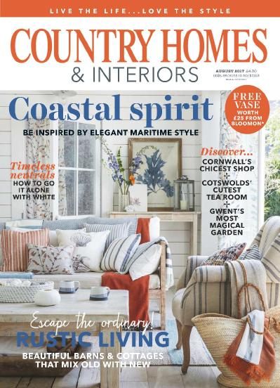 Country Homes & & Interiors  August (2017)