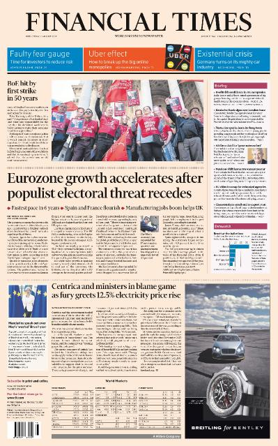 Financial Times UK  2 August (2017)