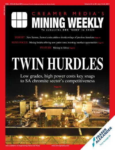 Mining Weekly  July 14 (2017)