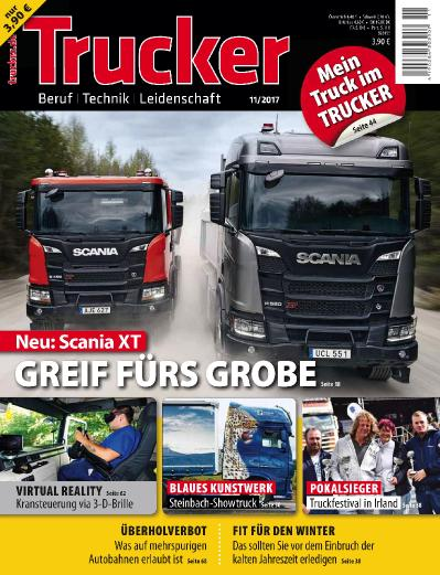 Trucker Germany  Nr 11 (2017)
