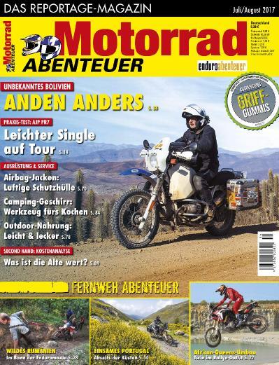 Motorrad Abenteuer  Juli August (2017)