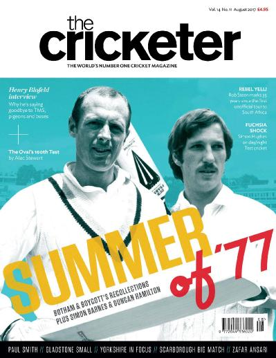 The Cricketer Magazine  August (2017)