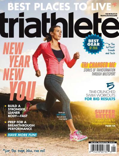 Triathlete - January (2016)