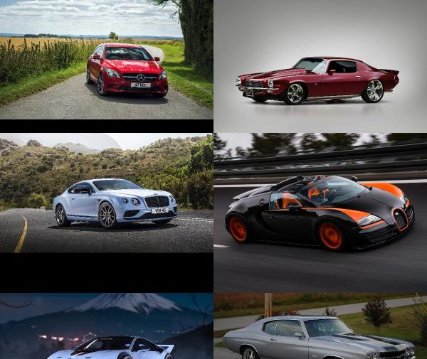 Stunning Car Wallpapers (Pack 100)