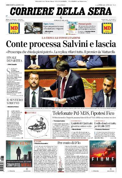 Corriere della Sera - 21 08 (2019)