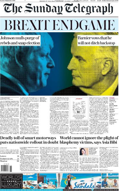 The Sunday Telegraph - 01 09 (2019)