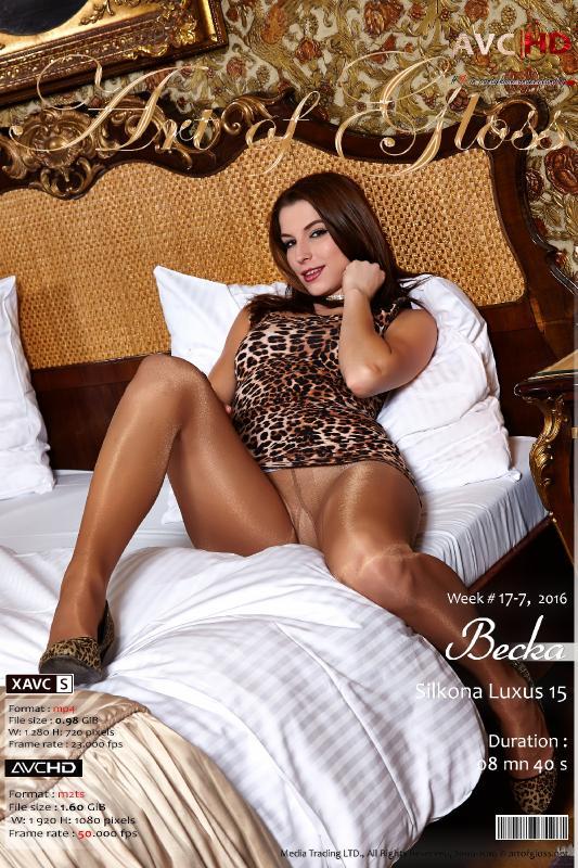 Art of Gloss #1 in pantyhose understanding.  17-7-16, Becka & Silkona Luxus 15