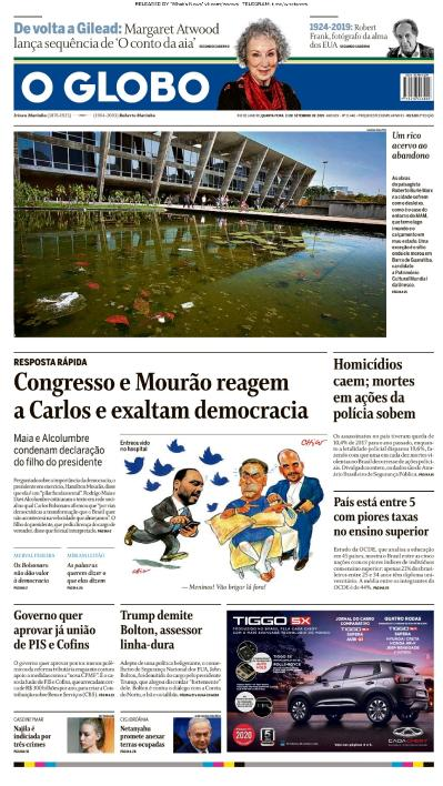 O Globo - 11 09 (2019)