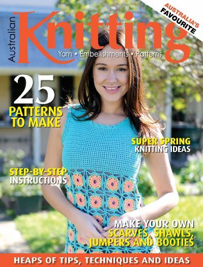 Australian Knitting  August (2014)