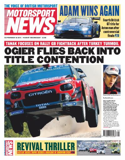 Motorsport News - September 18 (2019)