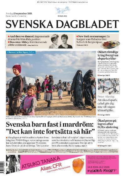 Svenska Dagbladet - 13 09 (2019)