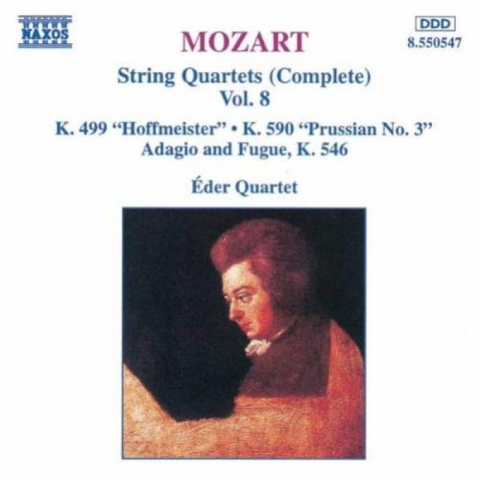 Mozart   String Quartets (Complete), Vol  8 (K499, K590 & K546)   Eder Quartet   N...