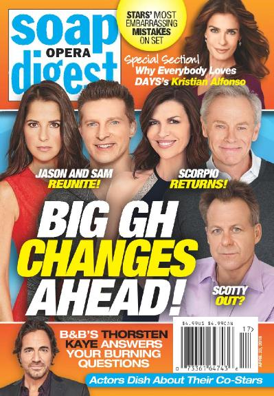Soap Opera Digest - April 23 (2018)