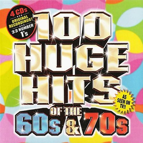 100 Huge Hits Of The 60s & 70s   Original Hits  Artists   4CDs