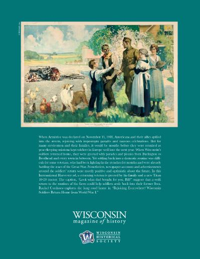 Wisconsin Magazine of History - March (2019)