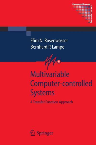 Multivariable Computer-controlled Systems A Transfer Function Approach
