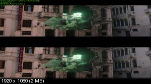 Человек-паук: Вдали от дома 3D / Spider-Man: Far from Home 3D   (by Ash61) Вертикальная анаморфная стереопара