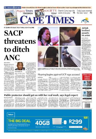 Cape Times  July 11 (2017)
