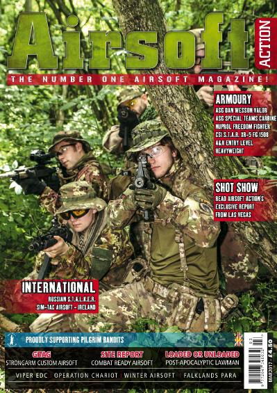 Airsoft Action - March (2017)