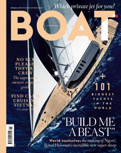 Boat International  January (2018)