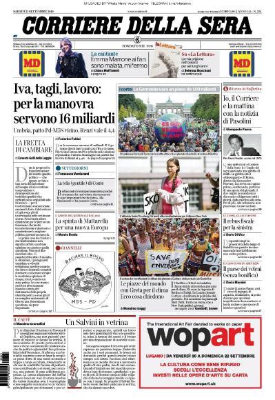 Corriere della Sera - 21 09 (2019)