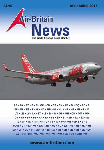 Air-Britain News  December (2017)