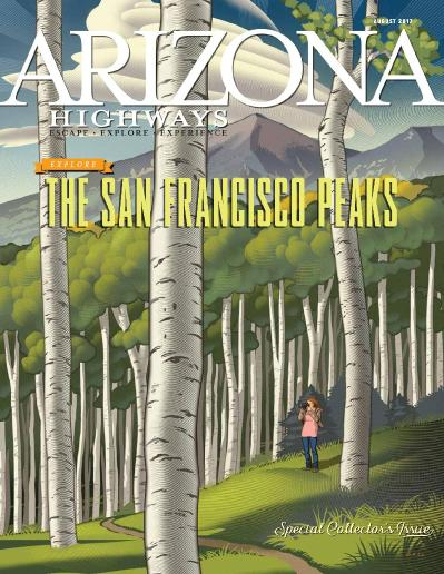 Arizona Highways Magazine  August (2017)