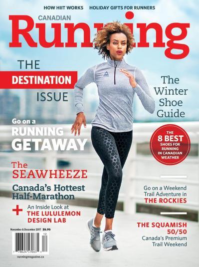 Canadian Running  November-December (2017)