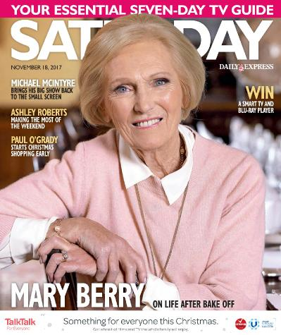 Saturday Magazine  November 18 (2017)