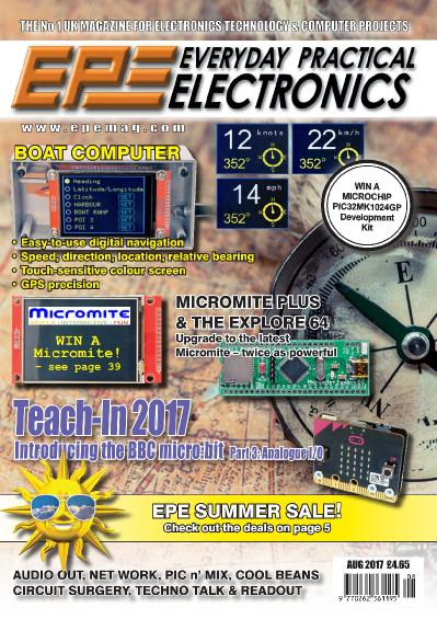 Everyday Practical Electronics  August (2017)