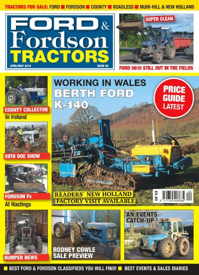 Ford & Fordson Tractors - April-May (2019)