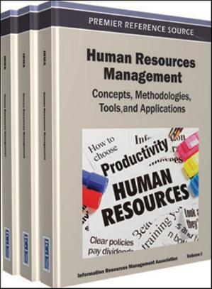 Human Resources Management Concepts Methodologies Dr Soc