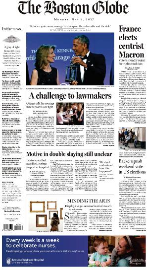 The Boston Globe  May 8 (2017)
